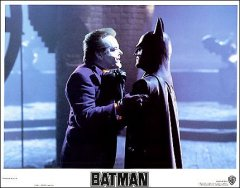 Batman 8 card set Jack Nicholson Michael Keaton