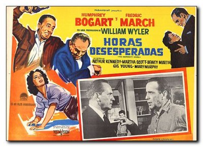 Desperate Hours Humphery Bogart Fredric March Maria Scott Gig Young 3