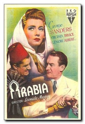 Adventure in Arabia George Sanders Virginia Bruce Lenore Aubert