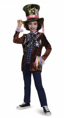 Mad Hatter Child Classic Costume Size S,M,L