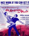 An American in Paris Gene Kelly Leslie Caron 1951