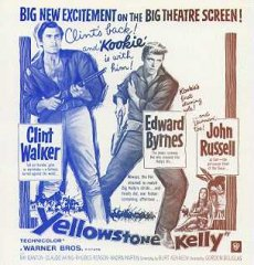 YELLOWSTONE KELLY Andy Devine, Ralph Morgan