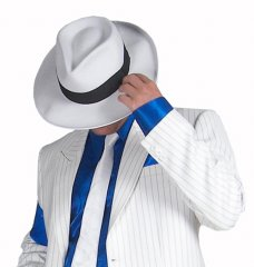 Michael Jackson Smooth Criminal Deluxe Wool HAT Costume PRE-SALE