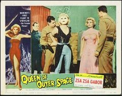 Queen of Outer Space Zsa Zsa Gabor # 7 1958