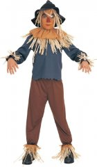 Scarecrow Child Costume Wizard of Oz Sizes S, M, L