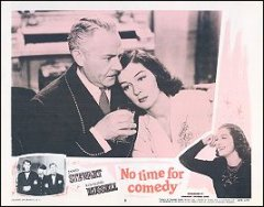 No Time for Comedy James Stewart Rosalind Russell # 3 1956R