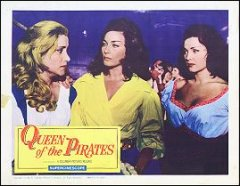 QUEEN OF THE PIRATES 1961