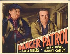 DANGER PATROL #2 from the 1937 movie. Staring Sally Eilers Harry Carey