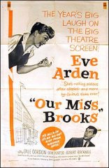 Our Miss Brooks Don Porter Eve Ardon 1956