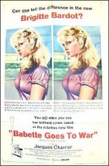 Babette Goes to War Brigitte Bardot 1960