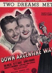 Down Argentine Way Don Ameche Betty Grable 1940