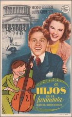Babes in Arms Mickey Rooney Judy Garland