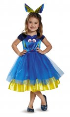 Dory Toddler Tutu Deluxe Costume Size 2T, 3T-4T, 4-6X