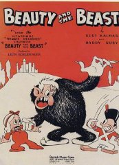 Beauty and the Beast Cartoon 1934