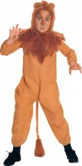 Cowardly Lion Child Costume Wizard of Oz Sizes S,M,L