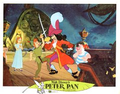 Peter Pan Disney 1969 Hook and Peter pictured #2