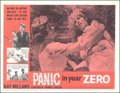 Panic in the Year Zerro Ray Milland Frankie Avalon # 5 1962