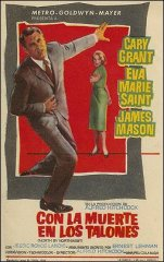North By Northwest Cary Grant Eva Marie Saint James Mason Hitchcock