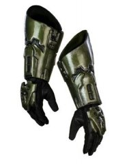 HALO 3 Master Chief Costume Deluxe Gloves
