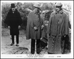 Hound of the Baskervilles Peter Cushing Christopher Lee Hammer Production 1959 1
