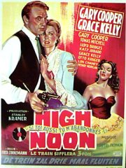 HIGH NOON Gary Cooper, Grace Kelly