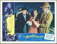 HAUNTED PALACE Vincent Price, Debra Paget, Lon Chaney 1963 # 1
