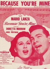 Because Your'e Mine Mario Lanza