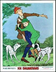 101 Dalmations Disney 1970's husband