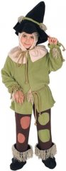 Scarecrow Child Costume Wizard of Oz Sizes TODD, S
