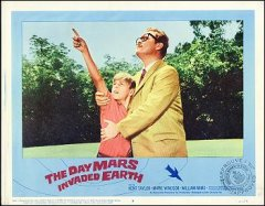 DAY MARS INVADED EARTH, #8 from the 1962 movie. Staring Kent Taylor, Marie Windssor.