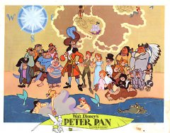 Peter Pan Disney 1969 Hook and Peter pictured with all #5