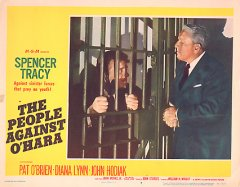 PEOPLE AGAINST 0'HARA SPENCER TRACY PAT O'BRIEN #7 1951