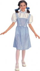 Dorothy Child Costume Wizard of Oz Sizes S, M, L