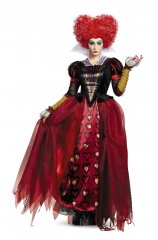 Red Queen Adult Deluxe Costume Size S,M,L,XL