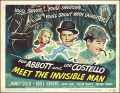 Abbott and Costello Meet the Invisible Man 3 pictured