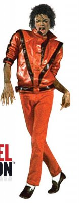 Michael Jackson RED THRILLER DELUXE JACKET Adult Costume PRE-SALE