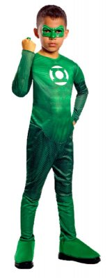Green Lantern Child Hal Jordan Costume S, M, L