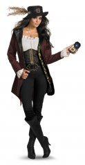 Disney Pirates of the Caribbean Angelica Adult PRESTIGE Costume