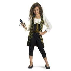 Disney Pirates of the Caribbean Angelica Child Classic Costume