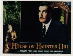 House on Haunted Hill Vincent Price Horror