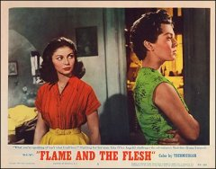 Flame and Flesh Lana Turner Pier Angeli both pictured