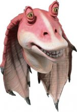 Jar Jar Binks� Adult Full overhead latex mask