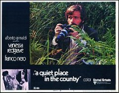 QUIET PLACE IN THE COUNTRY Vanessa Redgrave #6 1970