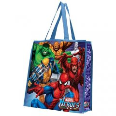 Marvel Heroes Reusable Shopping Tote Bag