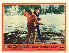 DAY OF THE OUTLAW lobby card #5 from the 1959 movie