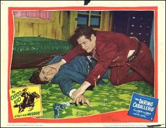 DARING CABALLERO #3 from the 1949 movie. Staring Dancan Renaldo Cisco Kid