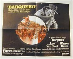 Barquero Lee Van Cleef Warren Oats 1970
