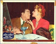 Abbott and Costello Meet the Invisible Man Costello and Woman