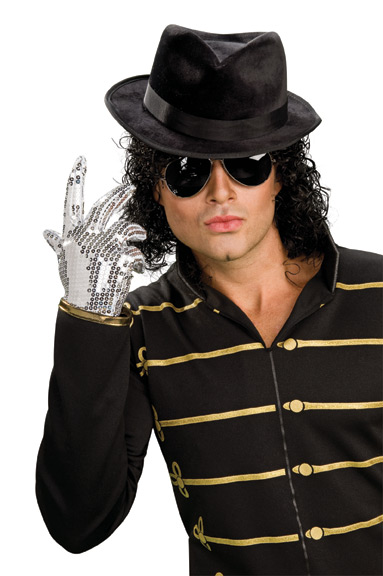 Michael Jackson POP STAR BLACK FEDORA HAT IN STOCK! - Click Image to Close