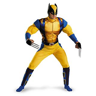 Wolverine Origins Classic Muscle Adult Costume TEEN, XL